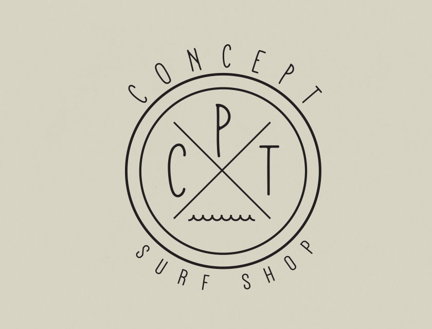 Concept Surf Shop Logo 2