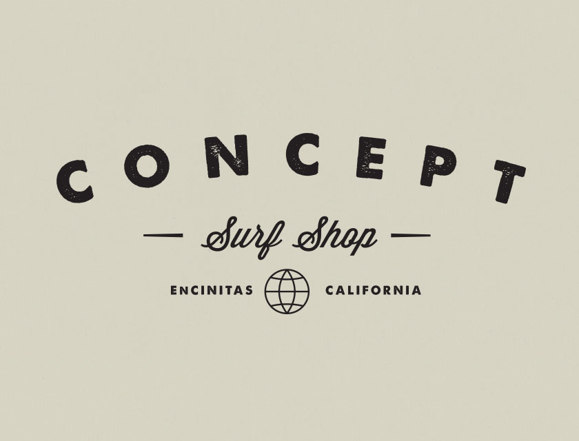 Concept Surf Shop Logo