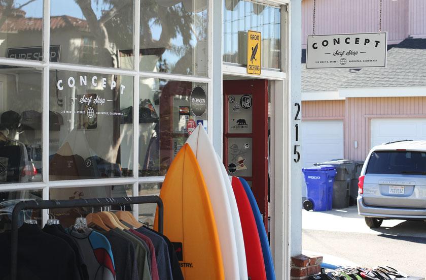 Concept Surf Shop Store Front